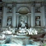 La Fontana di Trevi, uno de los sitios más famosos de Roma
